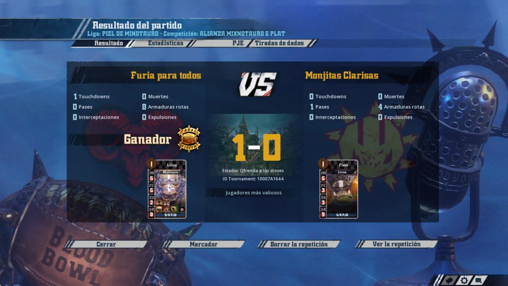 Liga Alianza Mixnotauro 6 - División Cuerno de Plata / Jornada 1 - hasta el domingo 21 de junio 31-05-10