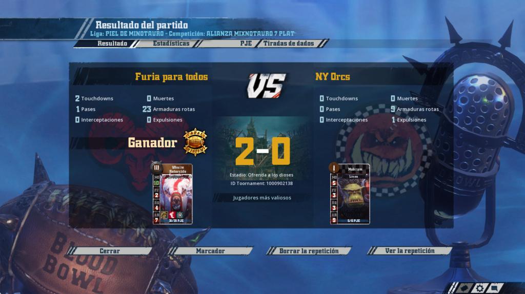 Liga Alianza Mixnotauro 7 - División Cuerno de Plata / Jornada 5 - hasta el domingo 31 de enero Captur11