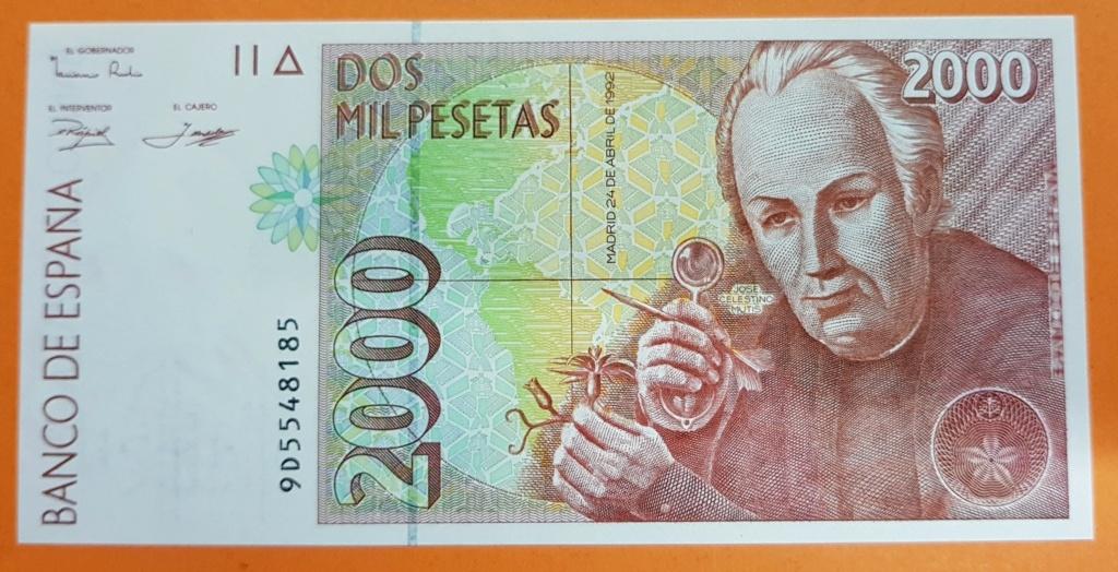 2000 pesetas del año 1992. 1995_210
