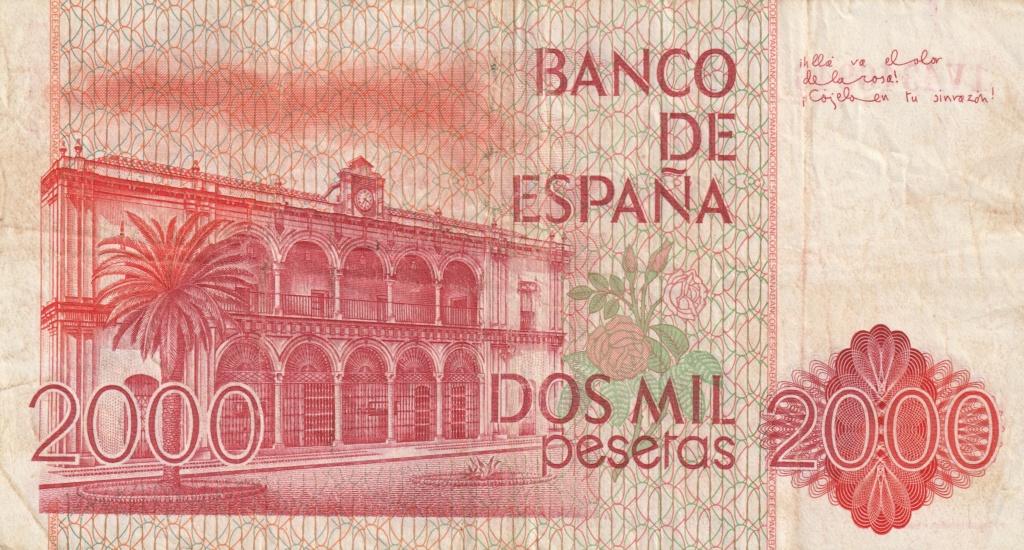 Serie complete de billetes de peseta 1979/80 2000_r10