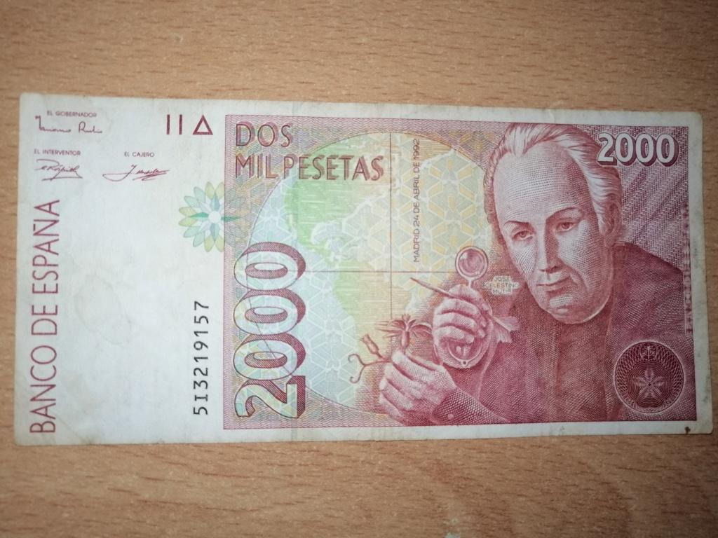 2000 pesetas del año 1992. Anv22