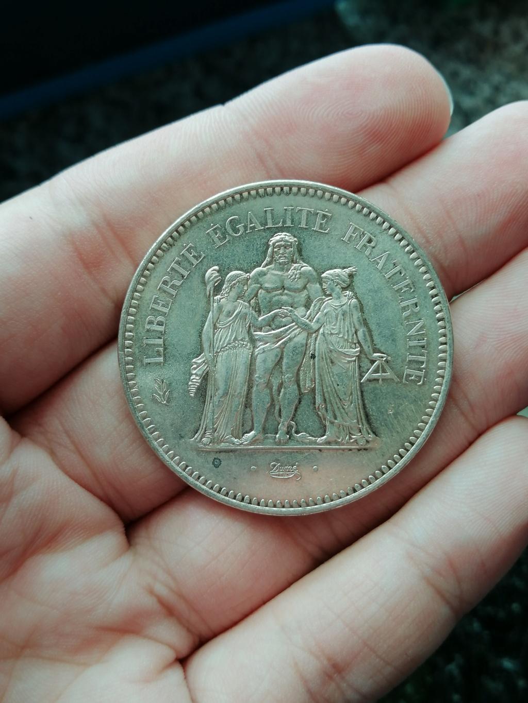 5ª República Francesa - 50 Francos de plata 1975 Anvers16