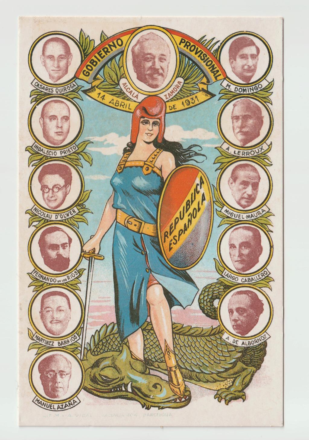 Tarjetas postales de la II República Española Esczen12