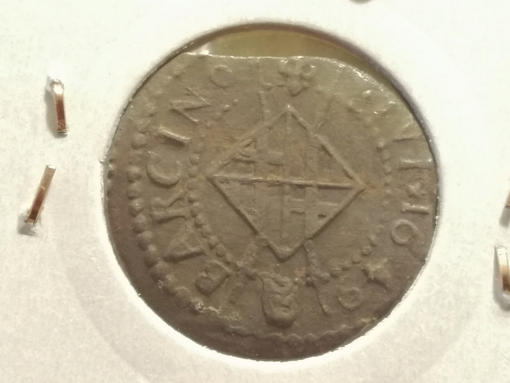 1 Seiseno de Luis XIV, Barcelona 1649. Img_2031
