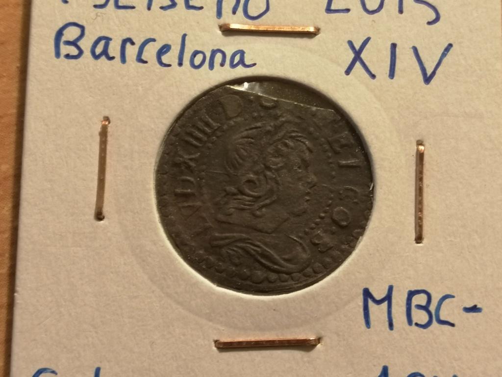 1 Seiseno de Luis XIV, Barcelona 1649. Img_2032