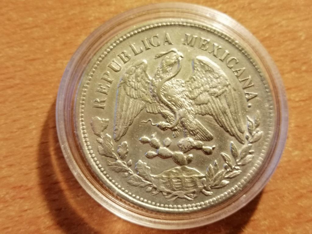 1 Peso 1903 Zacatecas. República de México. Img_2054