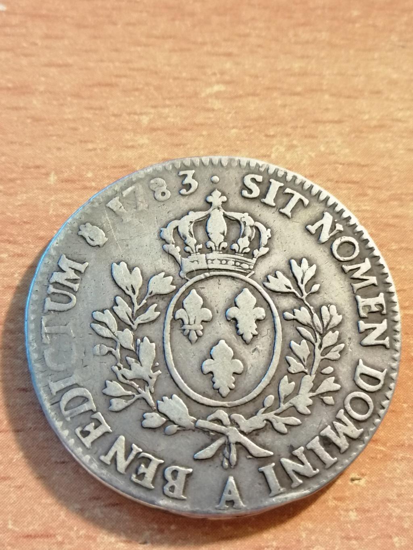 1 ECU FRANCIA 1783 LUIS XVI Img_2075