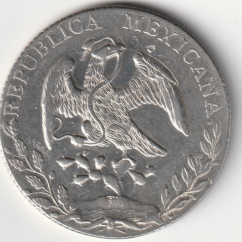 8 Reales resplandor México 1889  Img_2096