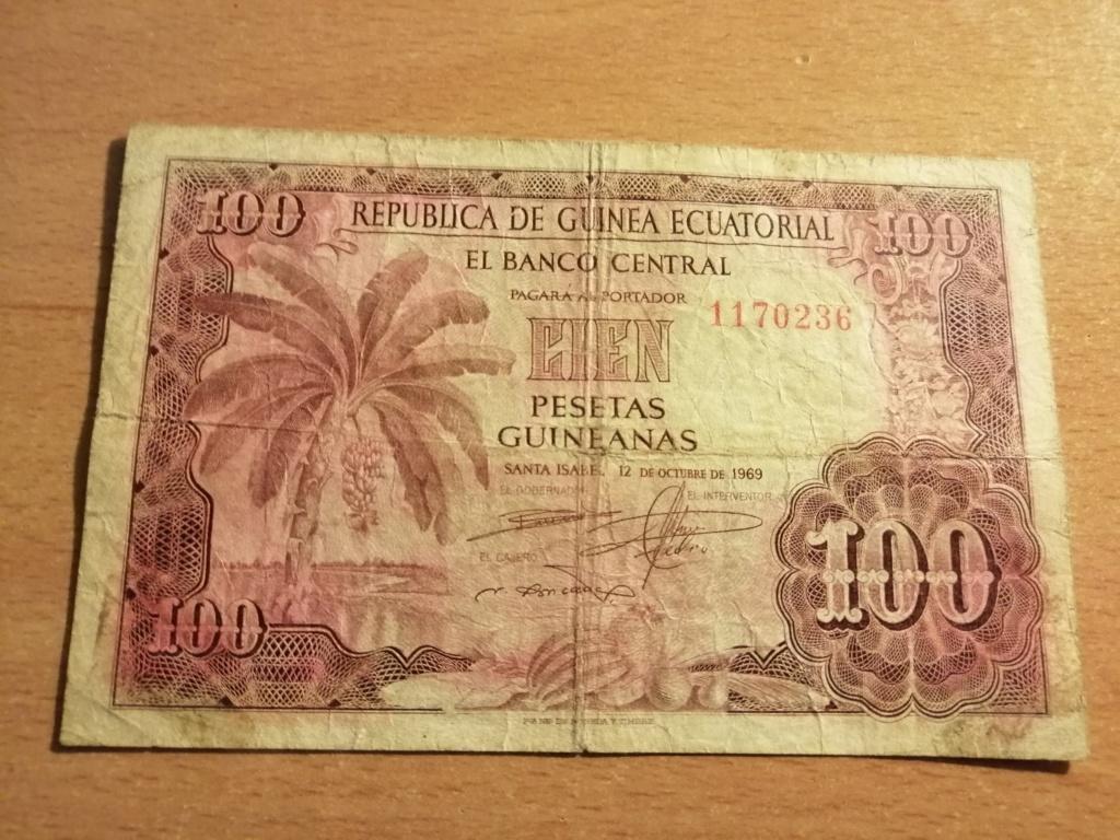 Billete de 100 Pesetas Guineanas 1969 Img_2110