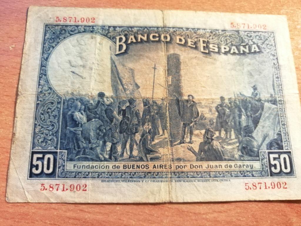 50 pesetas 1927 - Opinión sobre sello Republicano Img_2137
