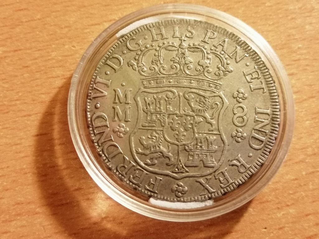 8 Reales Columnario Fernando VI 1758 Img_2140