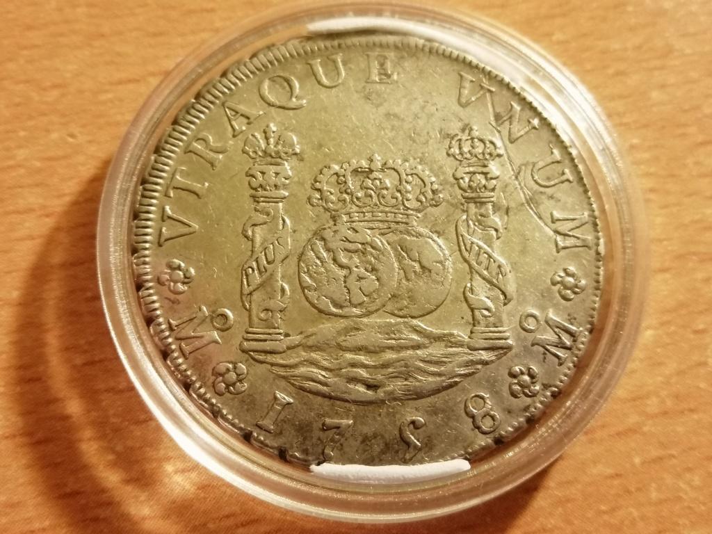 8 Reales Columnario Fernando VI 1758 Img_2141