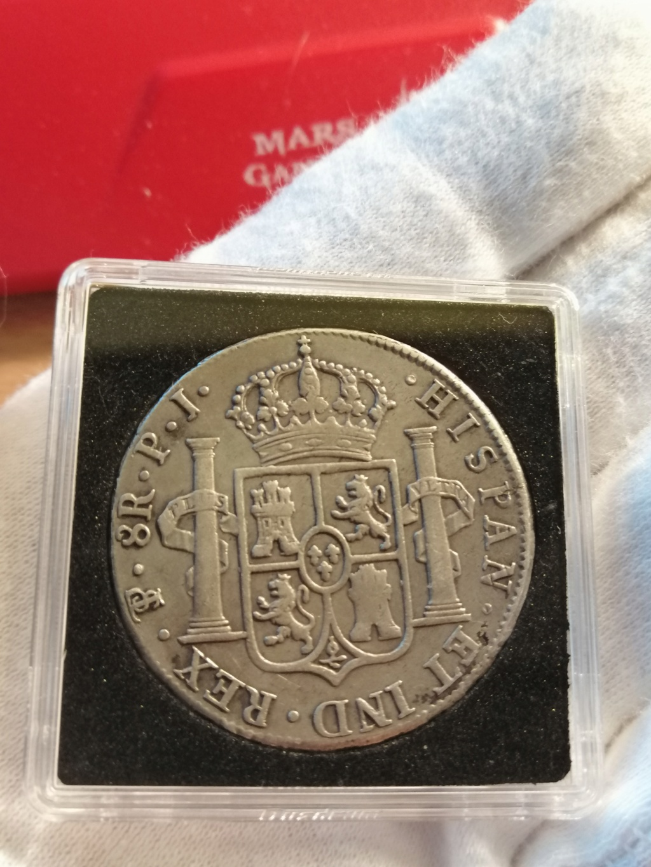 8 REALES FERNANDO VII 1818 POTOSÍ Img_2261