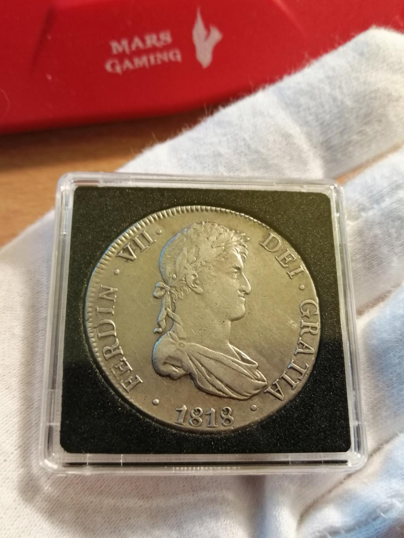 8 REALES FERNANDO VII 1818 POTOSÍ Img_2262
