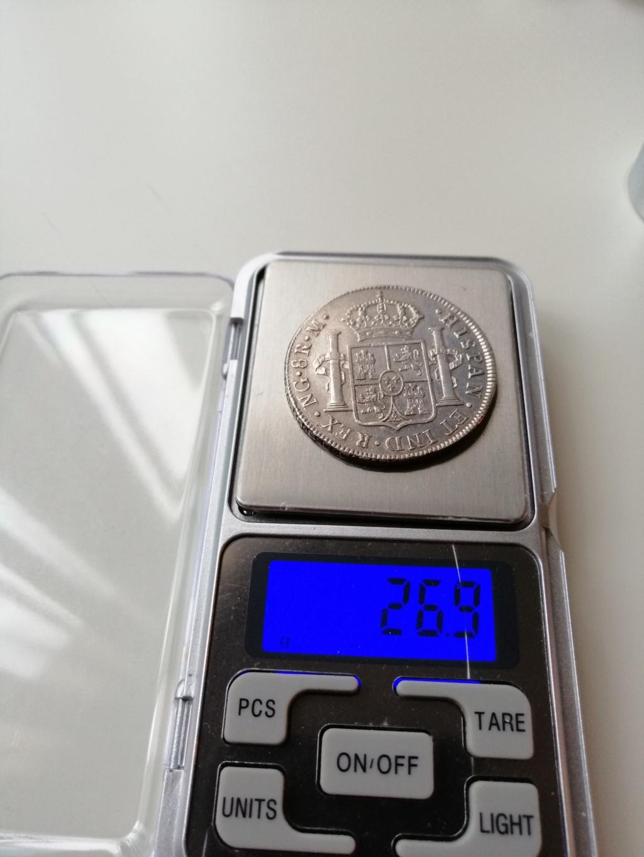 8 REALES COLUMNARIO. FIN DE LA ODISEA Peso_810