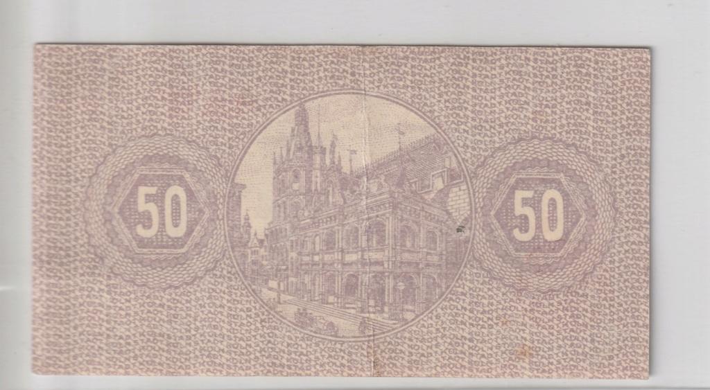 50 Pfennig de köln (Colonia), 1920 Rev17