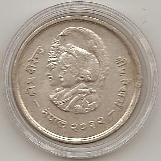 20 Rupias 1975. Nepal. (Birendra Bir Bikram) Escane12