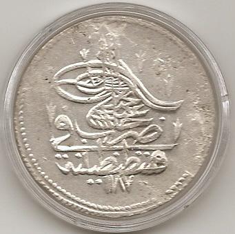 Una Piastra de Abdul Hamid I. Imperio Otomano. Escane14