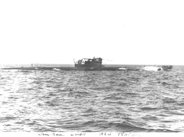 Sous-marin LAUBIE (ex U-766) - Photos originales équipage 95665010