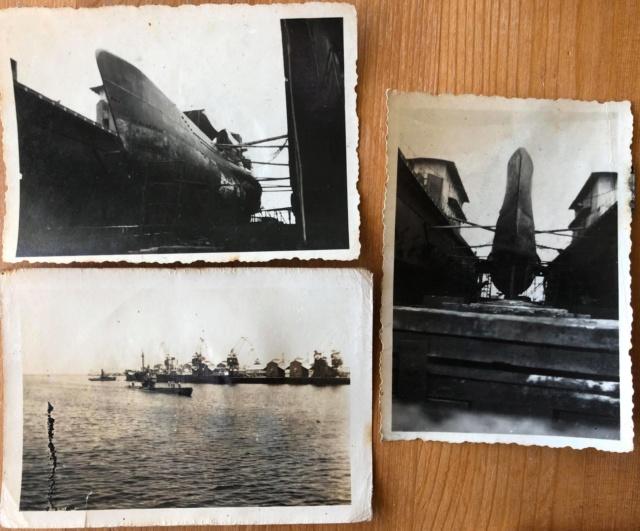 Sous-marin LAUBIE (ex U-766) - Photos originales équipage 95840410