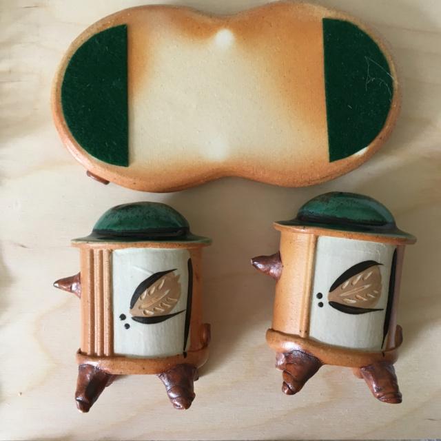 S&P Shakers by Kevin Tunstall & Enid Tangeman, TT Pottery, Ohio, USA 9b240710