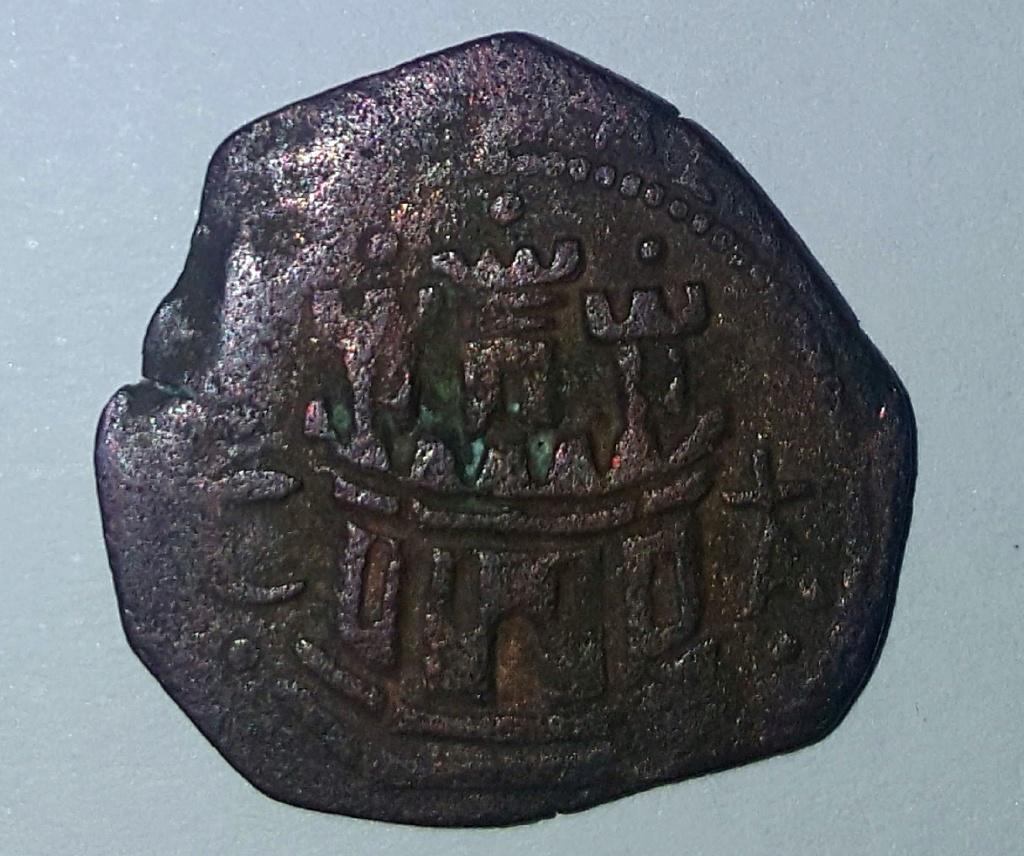 2 maravedís de Felipe II de Cuenca. 9310