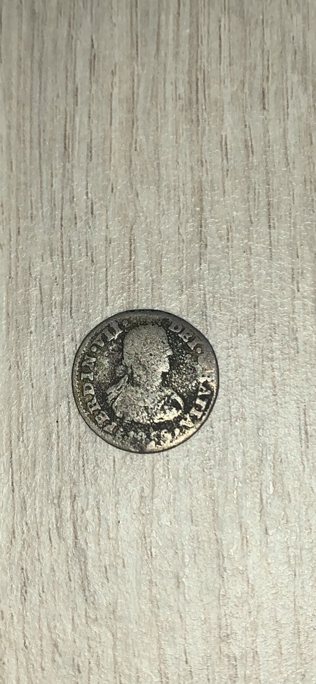 1/2 Real México 18XX TH. Fernando VII. Busto imaginario 2a85c610