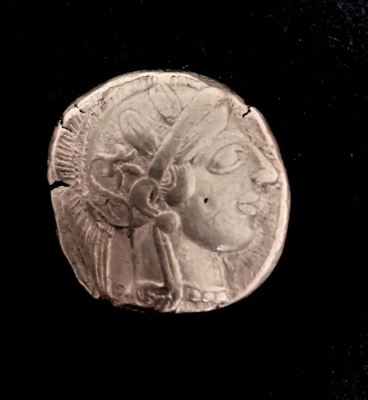 "Tetradracma ateniense. Siglo V a.C. ""lechuza"". Atica_11"