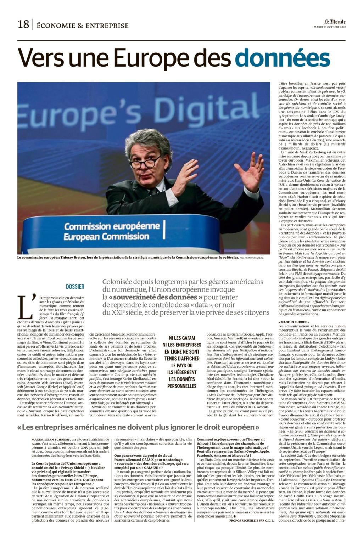 Vers une europe des données et donc atteinte à la vie privée !!! Le_mon27
