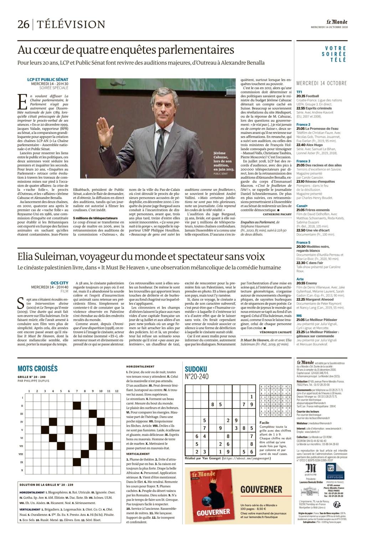 monde14/10:tv:au coeur de 4 enquetes parlementaires  Le_mon45