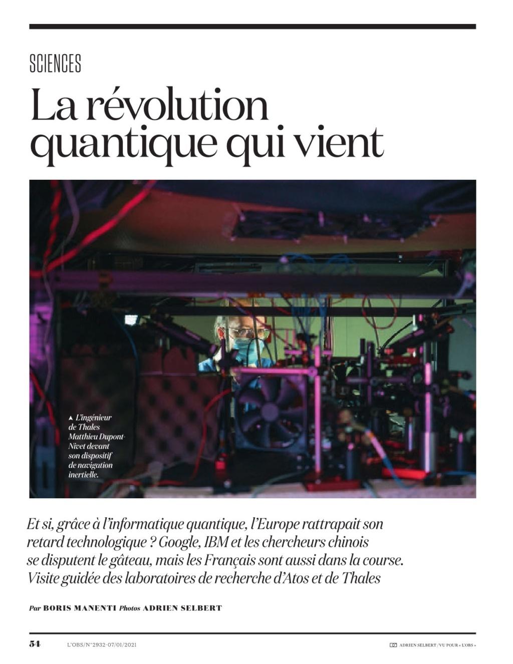 l'obs :la révolution quantique 1 Obs29327