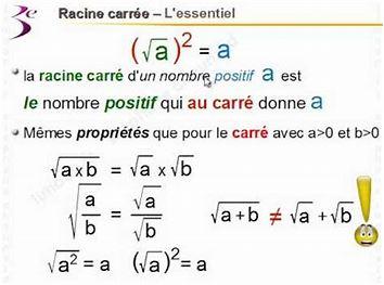 Jeu de mathématiques Racine10