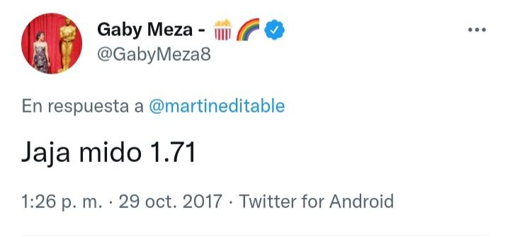 """¿Cuánto mide Gaby Meza """"Fuera de Foco""""? - Altura - Real height 20210114"""
