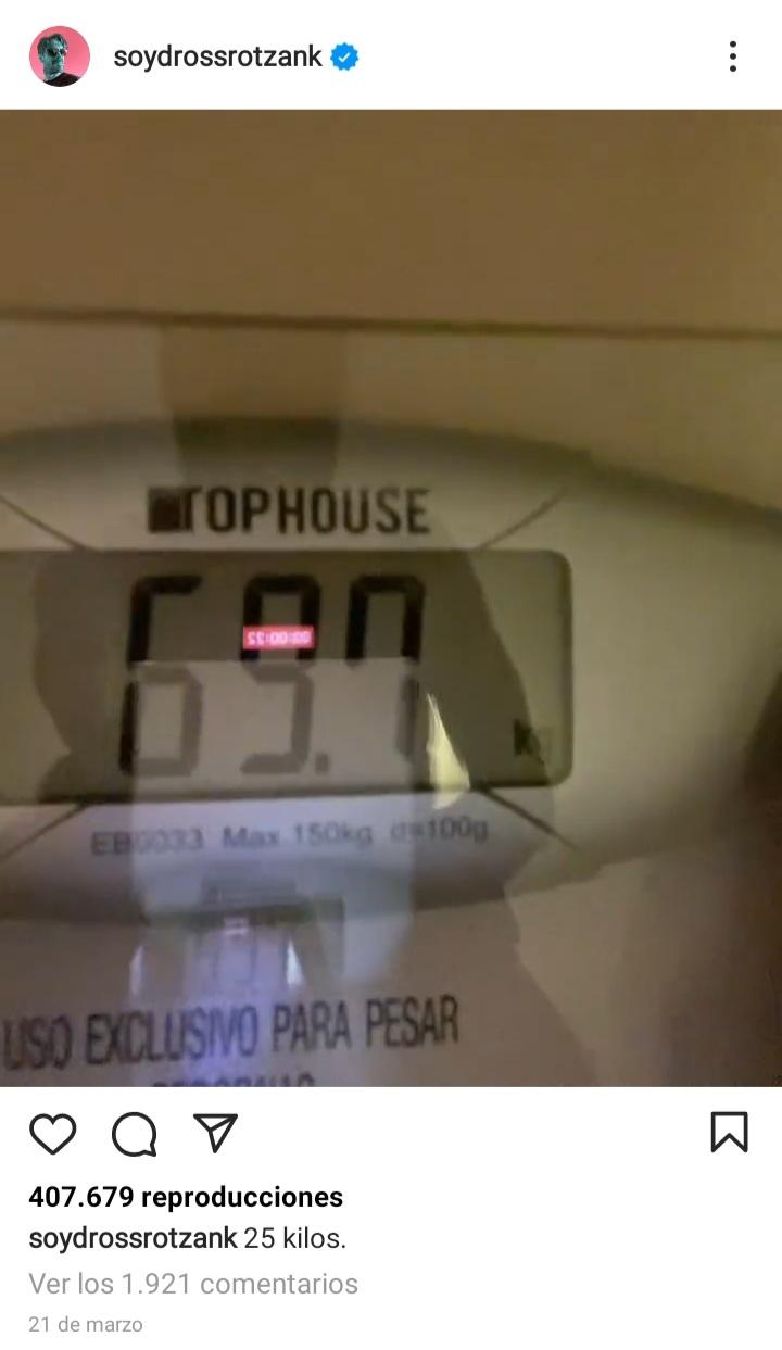 ¿Cuánto mide Ángel David Revilla Lenoci (DrossRotzank)? - Altura - Real height 20211014