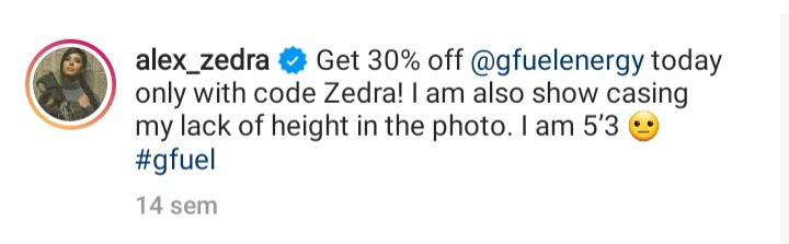 ¿Cuánto mide Alex Zedra? - Altura - Real height 20211030