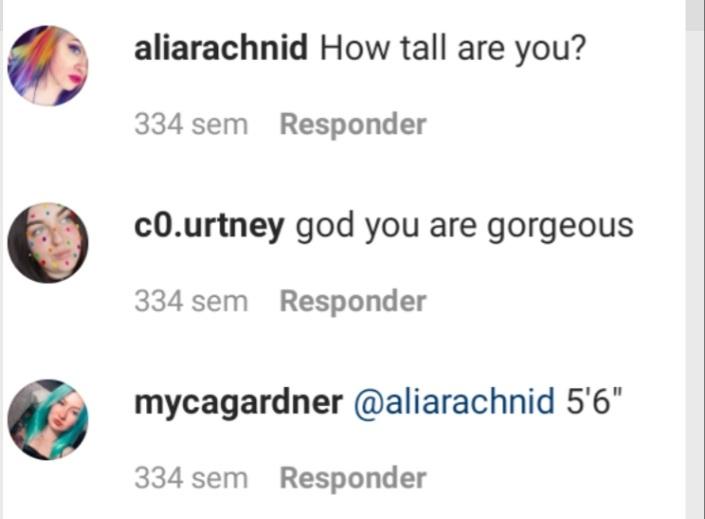 ¿Cuánto mide Myca Gardner? - Altura - Real height 20211110
