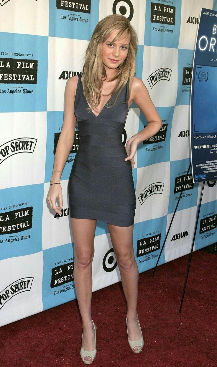 ¿Cuánto mide Brie Larson? - Altura - Real height B9d1b410