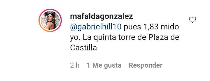 ¿Cuánto mide Mafalda González Alegre? - Altura real Img_2058