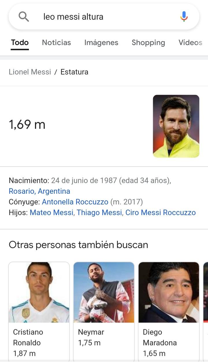 ¿Cuánto mide Lionel Messi? - Estatura y peso - Real height - Página 15 Mess10
