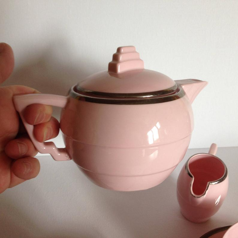 Can Anyone Please Help Date This Art Deco Czech Teapot And Who Made It? Teapot14