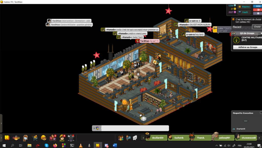 [C.M] Rapports d'activités de TardMan 5-5-2010