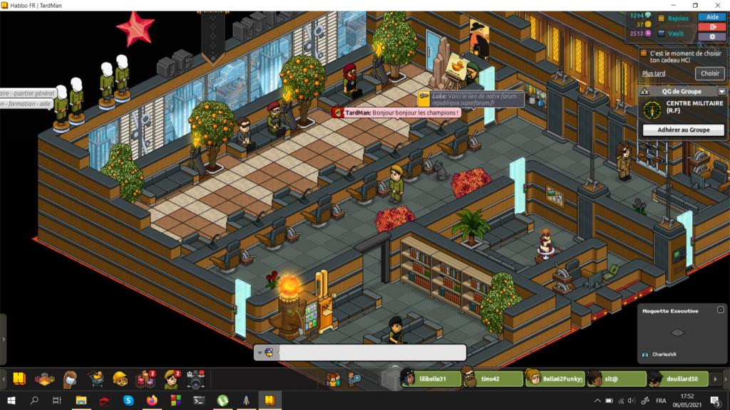 [C.M] Rapports d'activités de TardMan 6-5-2010