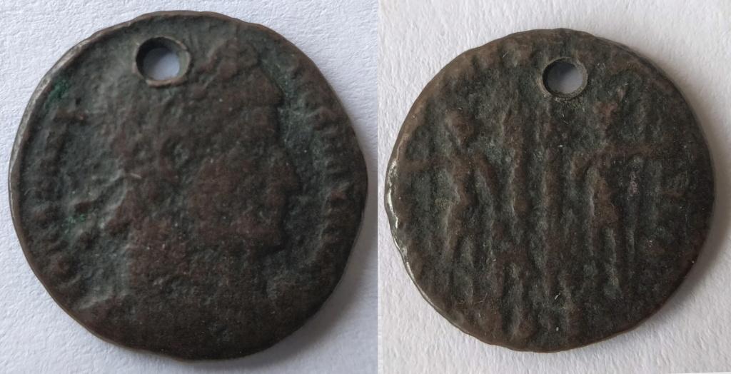 Antoniano de Salonino. PIETAS AVG. Instrumentos de sacrificio. Colonia (258-260) Consti10