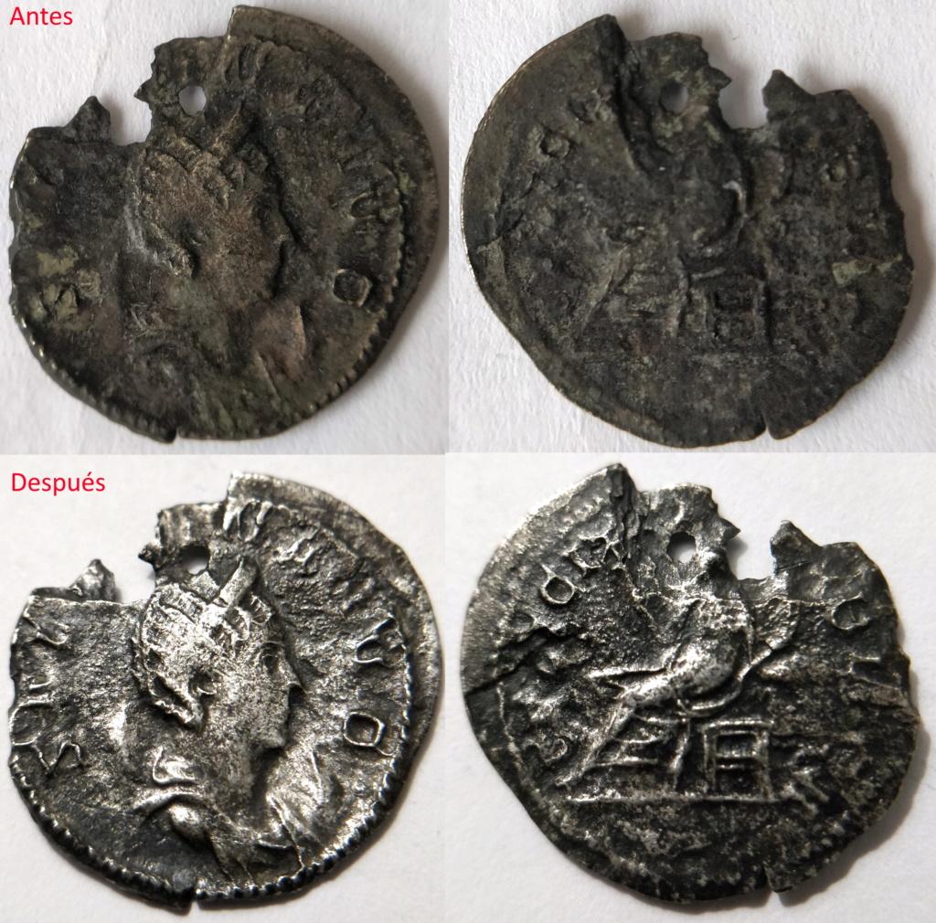 Antoniniano de Salonina. FELICITAS PVBLICA. Colonia Rgb29