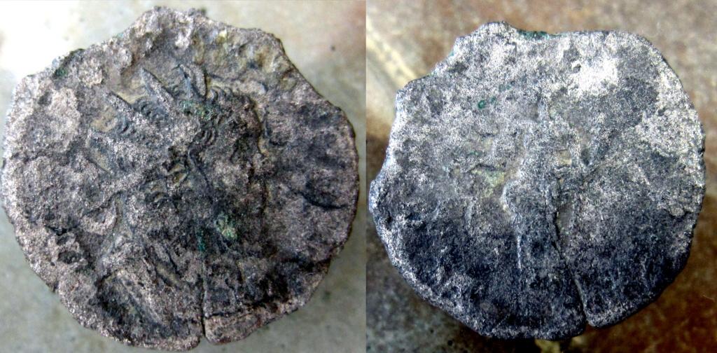 Antoniniano de Póstumo. C C A A COS IIII. Igualdad a izq. Colonia Untitl14