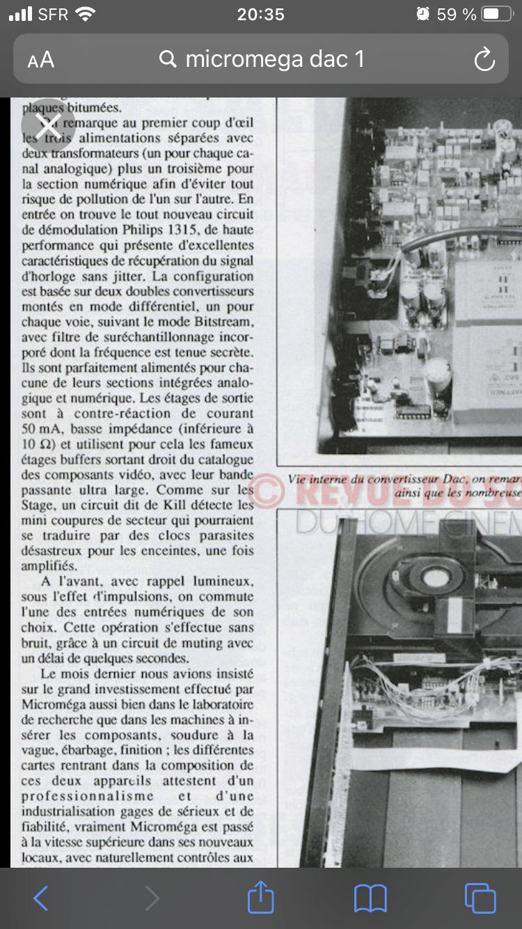 MICROMEGA DUO + DUO BS2 + DAC 1 + DRIVE 1 C64d4d10