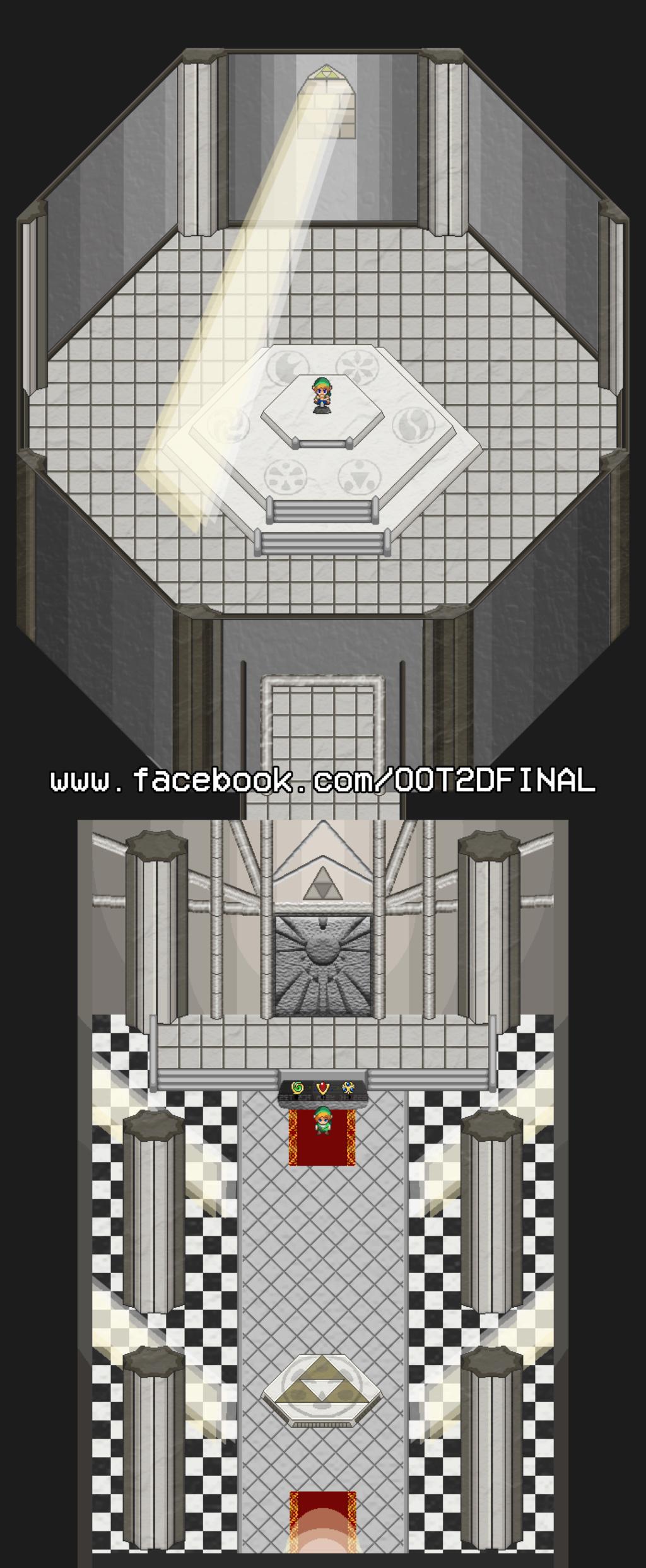 Ocarina of Time 2D Temple10