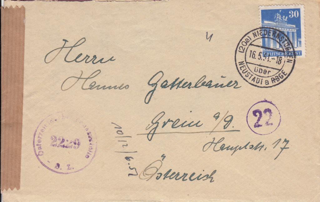 Zensurnebenstempel Österreich nach 1945 Img52