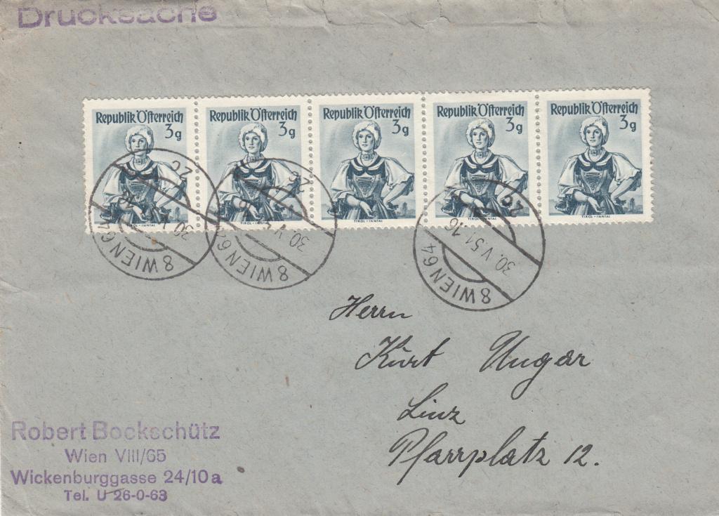 Trachtenserien ANK 887 - 923 und 1052 - 1072 Belege - Seite 14 Img56