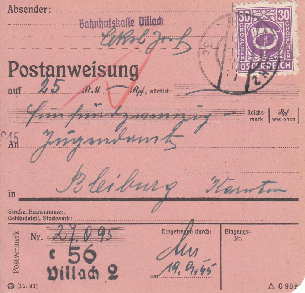 Posthornzeichnung  -  ANK 697-713  -  Belege - Seite 5 Img67